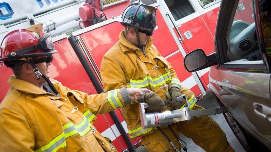The potential of AR technology for firemen