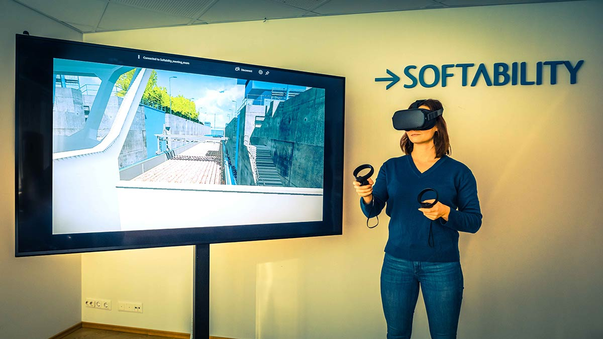The lock of Soskua was made into a gaming experience with virtual reality